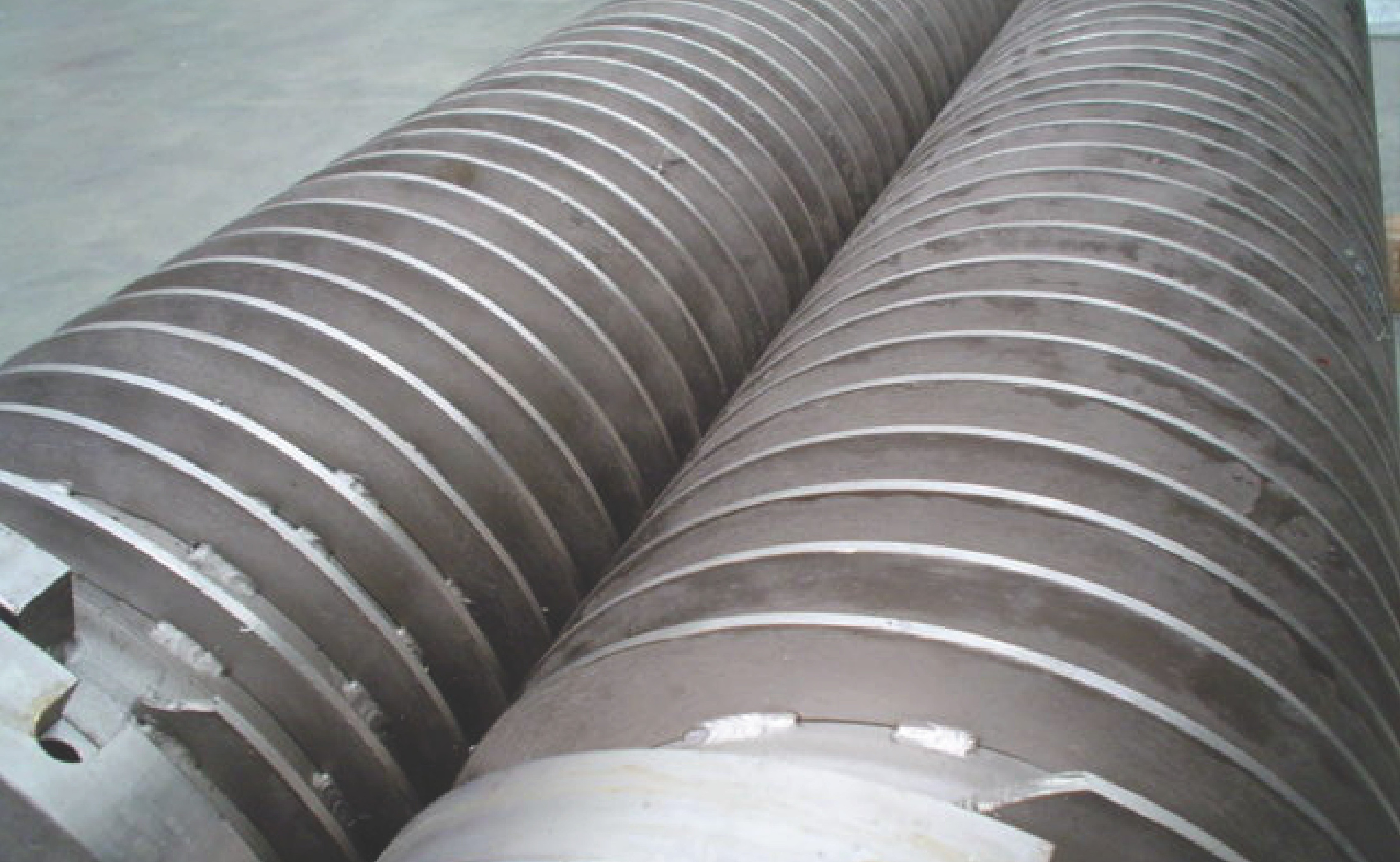 food processing rollers